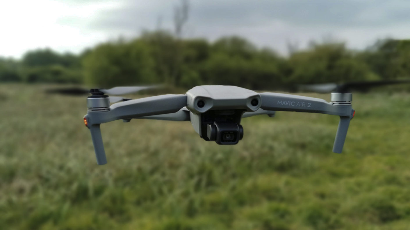dron dji Szczecin